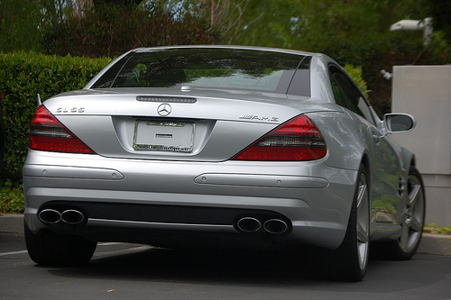 Steve Jobs Mercedes SL55