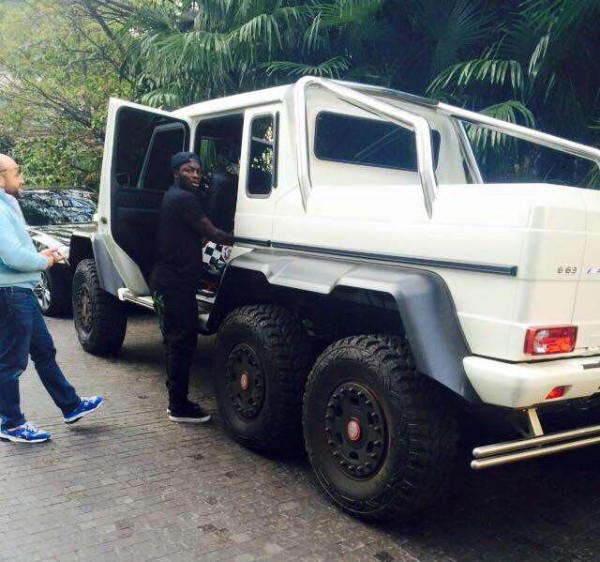 Sulley Muntari Mercedes Benz G63