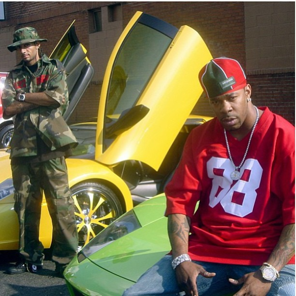 Swizz Beatz Busta Rhymes Lamborghinis