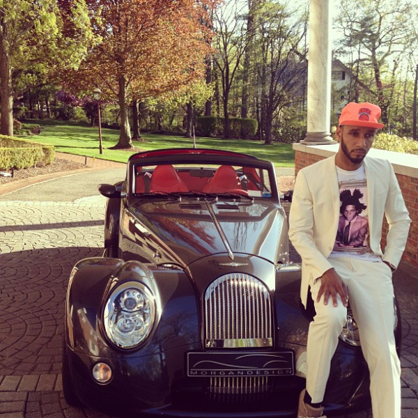 Swizz Beatz Morgan Aero Supersports