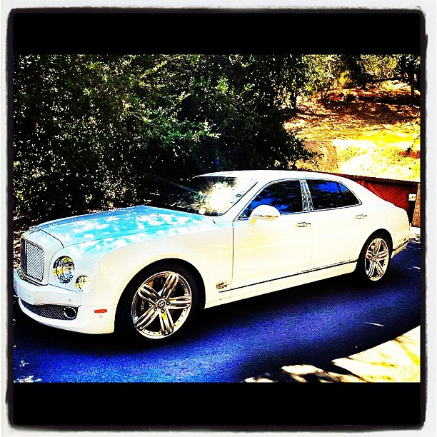 Bentley Mulsanne: T.I.'s Sitting Pretty In A New Bentley Mulsanne