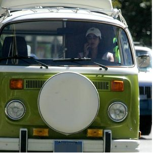 Teri Hatcher Volkswagen Bus
