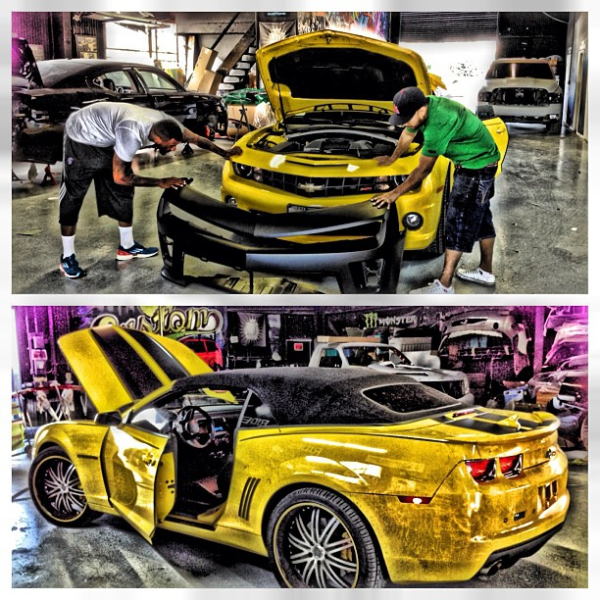 The Game Wants YOUR Help To Customize His New Camaro | Celebrity ...