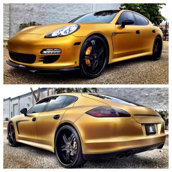Bentley Gtc Convertible He He He: 'The Game' Updates His Porsche Panamera