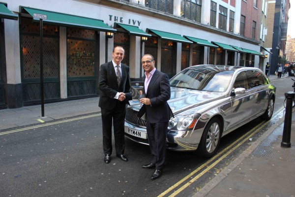 Theo Paphitis Maybach 62