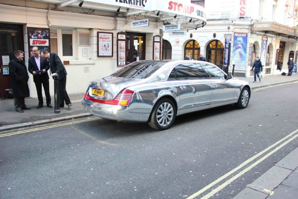 Theo Paphitis Maybach