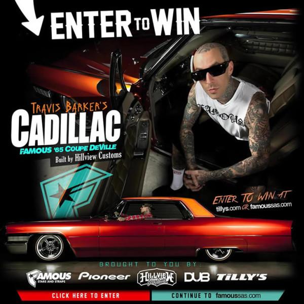 Travis Barker Cadillac