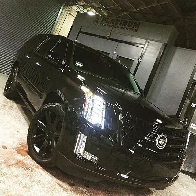 Travis Barker's Cadillac Escalade Is On Point