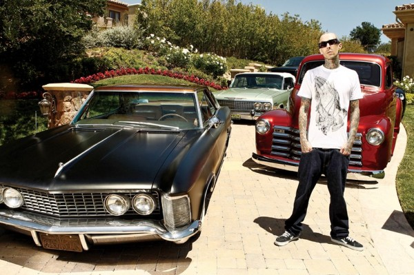 Travis Barker Cars