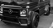 Travis Barker Mercedes G63 Brabus Upgrades