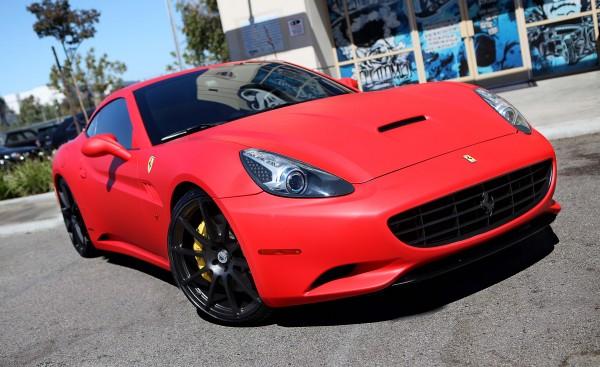 Tyga Ferrari California