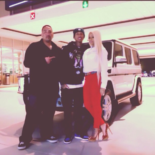 Tyga Mercedes G Wagon