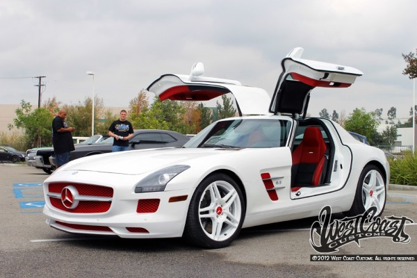 Tyga Mercedes SLS