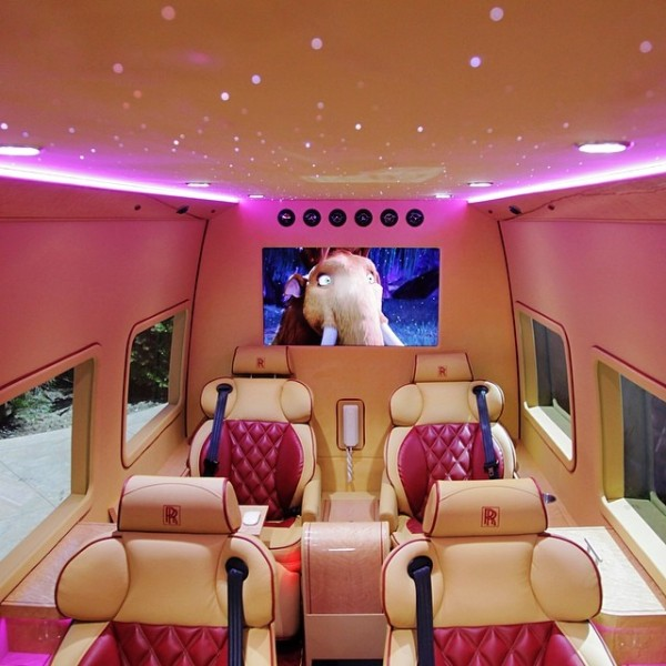 Tyrese Rolls Royce Sprinter Van