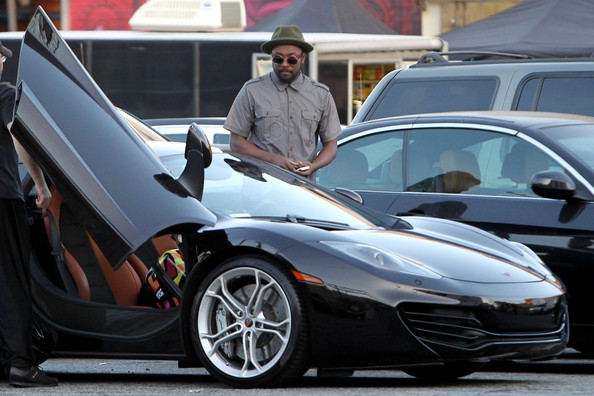 Will.i.am McLaren MP4-12C