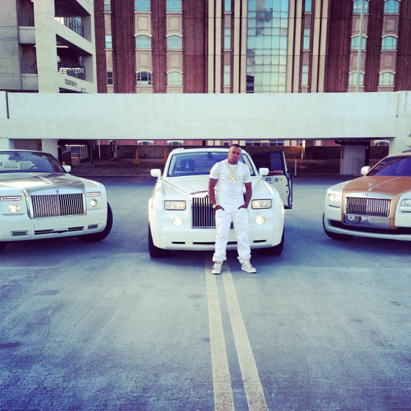 Yo Gotti With 3 Rolls Royce