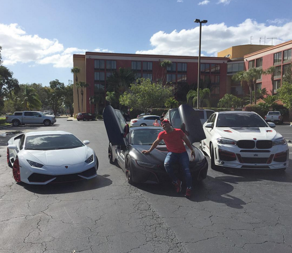 Yoan Moncada Car Collection