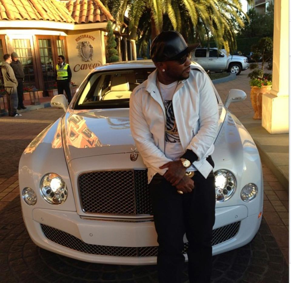 Young jeezy means business in the bentley celebrity cars blog vanachro Images
