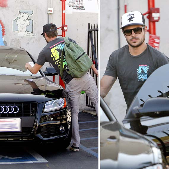 Zac Effron 39 S Cars Celebrity Cars Blog: celebrity motors