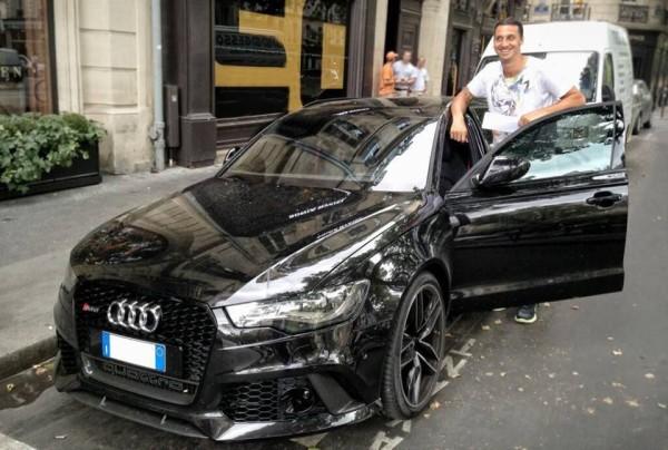 Zlatan Ibrahimovic Audi
