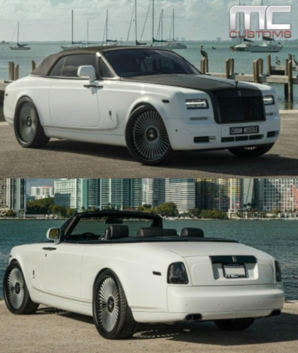 aroldis chapman Rolls Royce Dawn