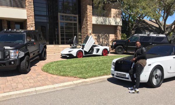 aroldis chapman car collection