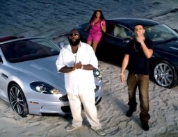 Rick Ross - Aston Martin Music ft. Drake and a bunch of Aston Martins