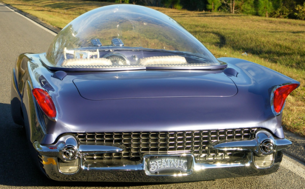 Barry Weiss Glass top car