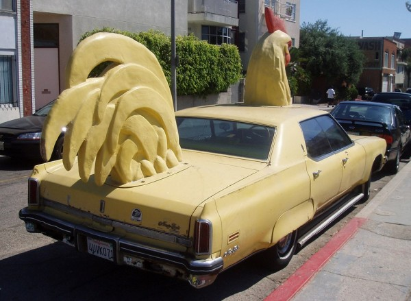 Barry Weiss Chicken Car