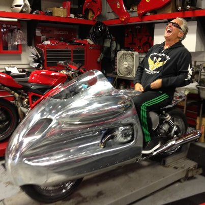 Barry Weiss Moto Guzzi