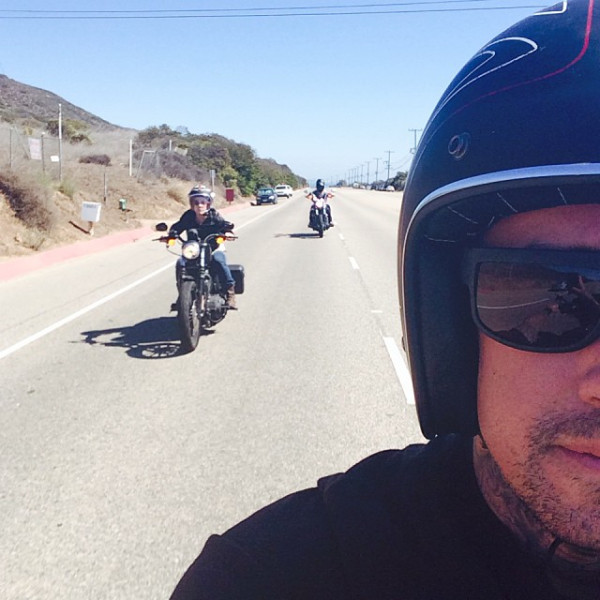 carey hart riding with pink