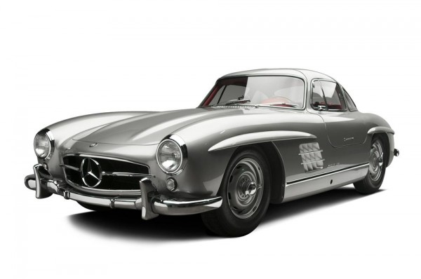 Clark Gable Gullwing Mercedes