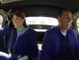 comedians in cars getting cofee sarah silverman