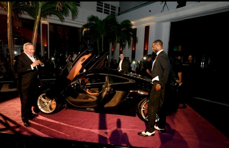 Dwayne Wade's New McLaren MP412C