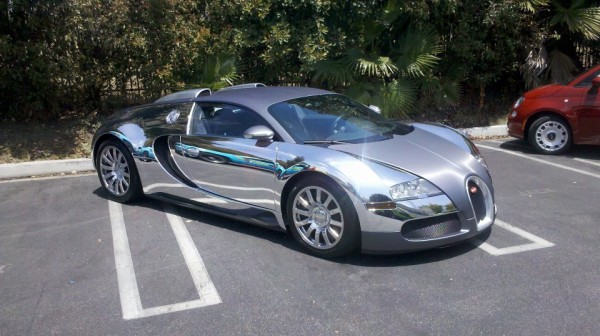 Florida Chrome Bugatti Veyron
