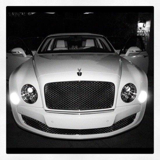 Floyd Mayweather's New Bentley Mulsanne