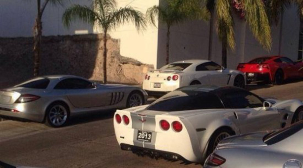 Mexican Governt Seizes Drug Lord Chapo's Car Collection ...