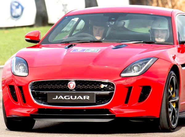 Prince Harry - Jaguar F-Type