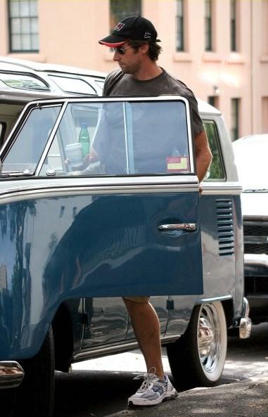 Hugh Jackman 23 Window VW Bus