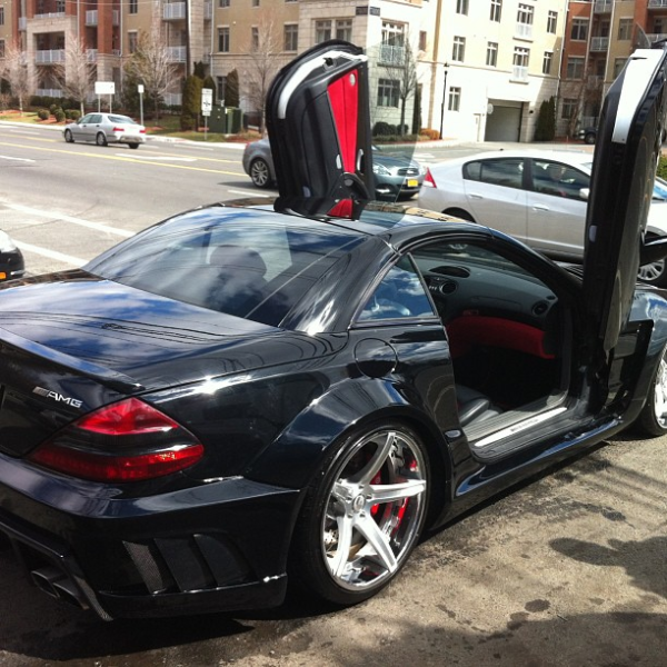Ice T Mercedes SL