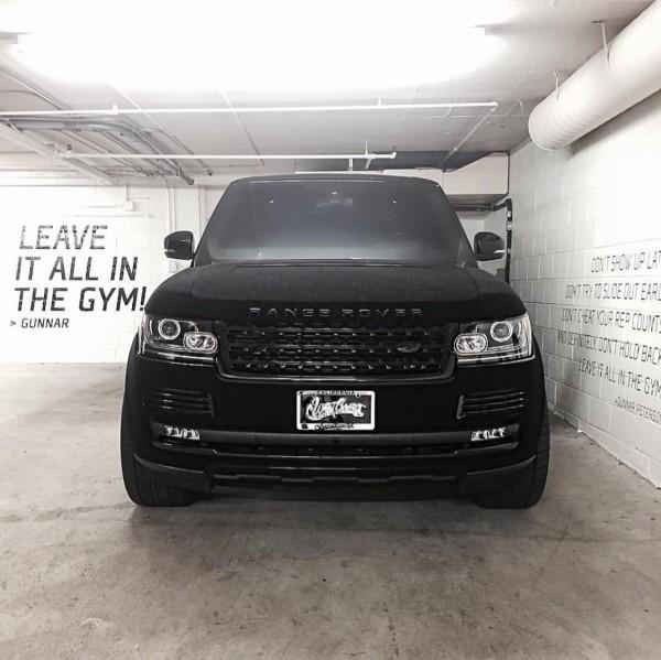 Khloe Kardashian | Range Rover
