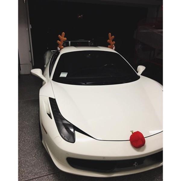 Kylie Jenner | Ferrari 458 Italia
