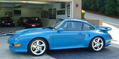 Jerry Seinfeld's Mexico Blue Porsche 993 Turbo S
