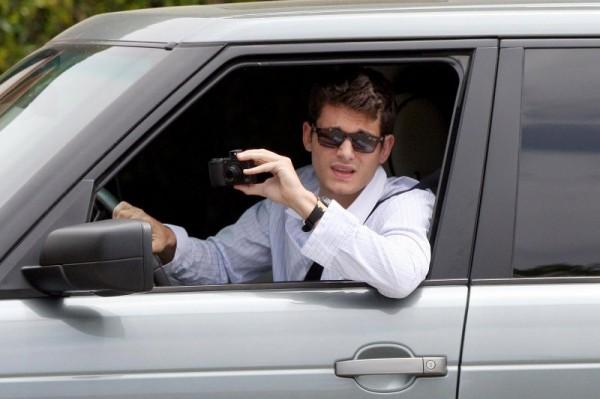 John Mayer Range Rover