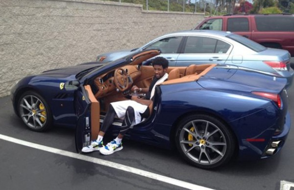 Josh childress 39 ferrari california celebrity cars blog for Interieur sport lebron james