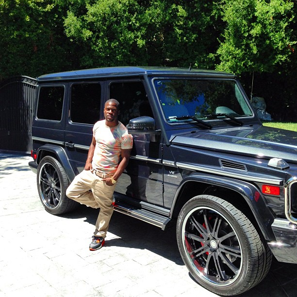 Kevin Hart Shows Off His G63 Celebrity Cars Blog