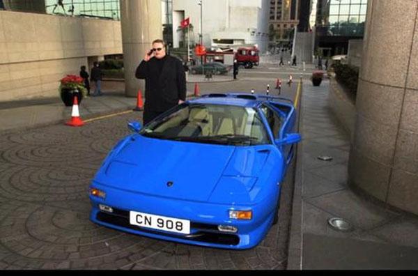 Kim Dotcom Lamborghini