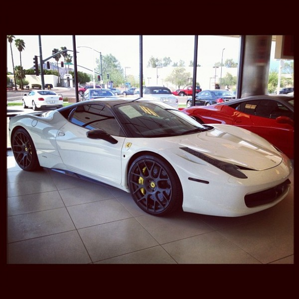 Kim Kardashian's Ferrari 458 For Sale