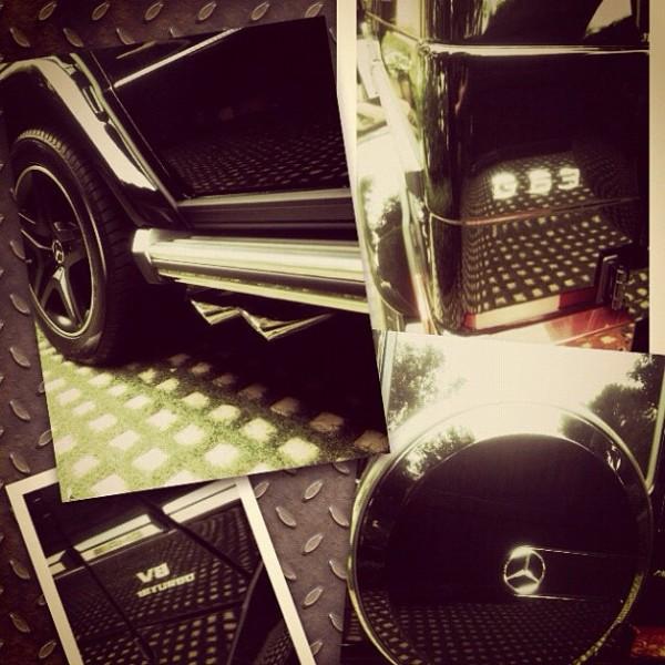 Kim Kardashian Mercedes G63