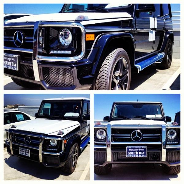 Kim Kardashian Mercedes G Wagon